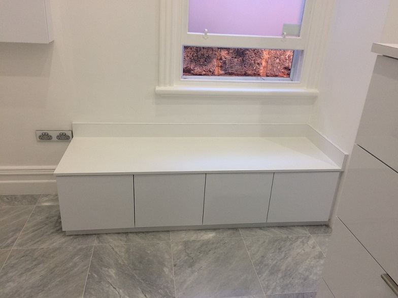 Seating Bench with hidden storage